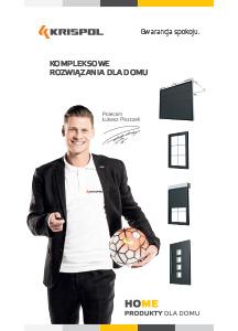 Bramy garażowe wjazdowe Szczecin - katalog bram Krispol