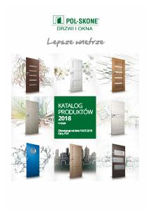 Drzwi wewnetrzne Pol-Skone Katalog